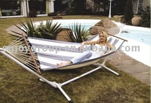 XY-CH-09007 Arc steel hammock with stand