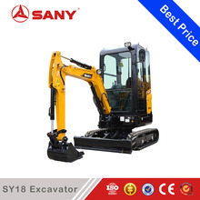 SANY SY18C 1.8 ton Mini Excavator Earth Mover for sale