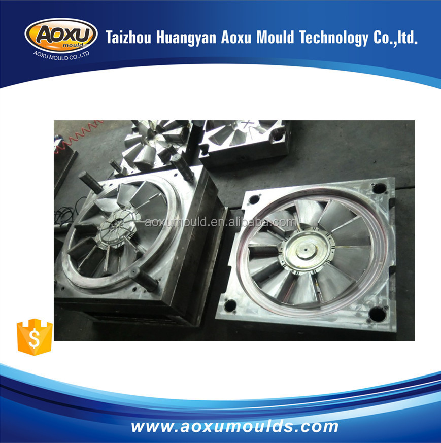 Customize Injection plastic fan blade mould