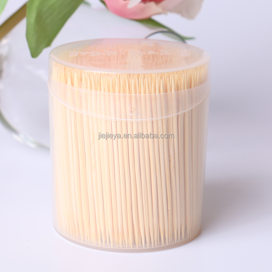 China suppliers direct sale toughness natural fruit stick bamboo toothpick