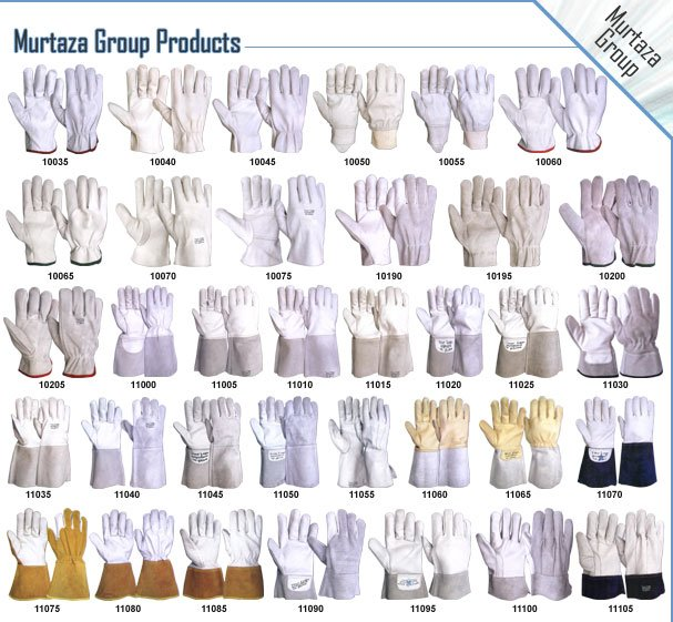 Leather Gloves, Leather Palm Gloves, Sheepskin Work Gloves