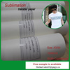 Sublimation heat transfer sticker paper for t-shirt