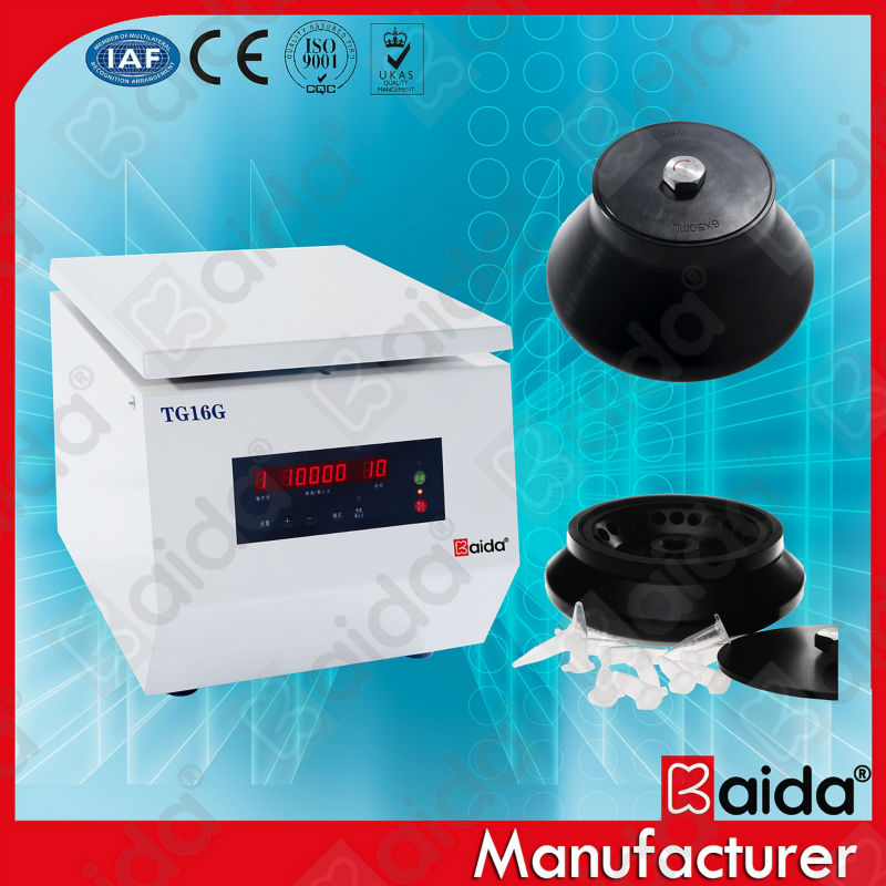 TG16G laboratory high speed and micro volume centrifugation types