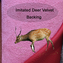 New deer velvet backing 1.2mm pu imitated microfiber car leather