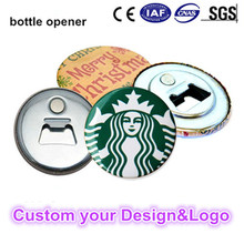 Custom beer opener magnet metal bottle opener for promotion advertisement