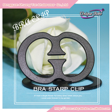Anti-slip OEM Service Clear Plastic Bra Buckle Clips Back Bra Strap Holder