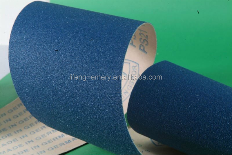 Custom logo abrasive jumbo sanding paper rolls With the Best Quality