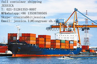 International shipping service from shanghai to wordwide ports