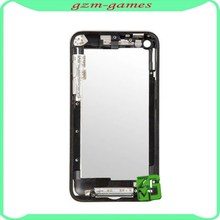100% Guarantee original back housing battery door cover case rear housing for iPod touch 4 Black