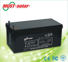 <MUST Solar>Low self-discharge battery ups battery 12volt