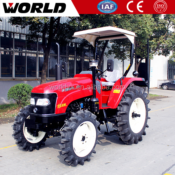 4WD 55HP compact tractor for sale with backhoe and loader
