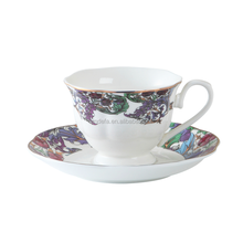 180ml Fine china porcelain disposable tea cup and saucer russain tea set