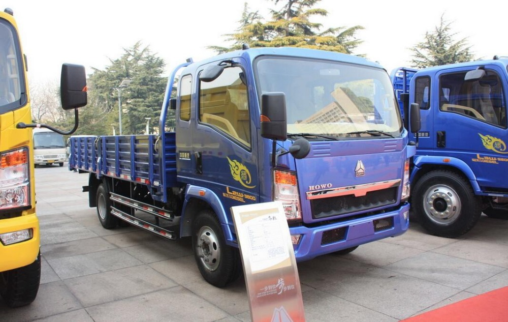 5ton Light Cargo Truck For Sale