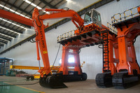 high position hydraulic excavator