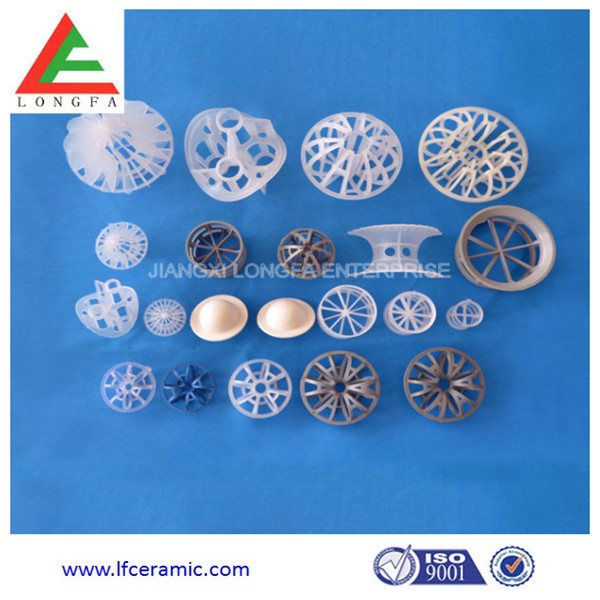 plastic conjugate ring for water treatment