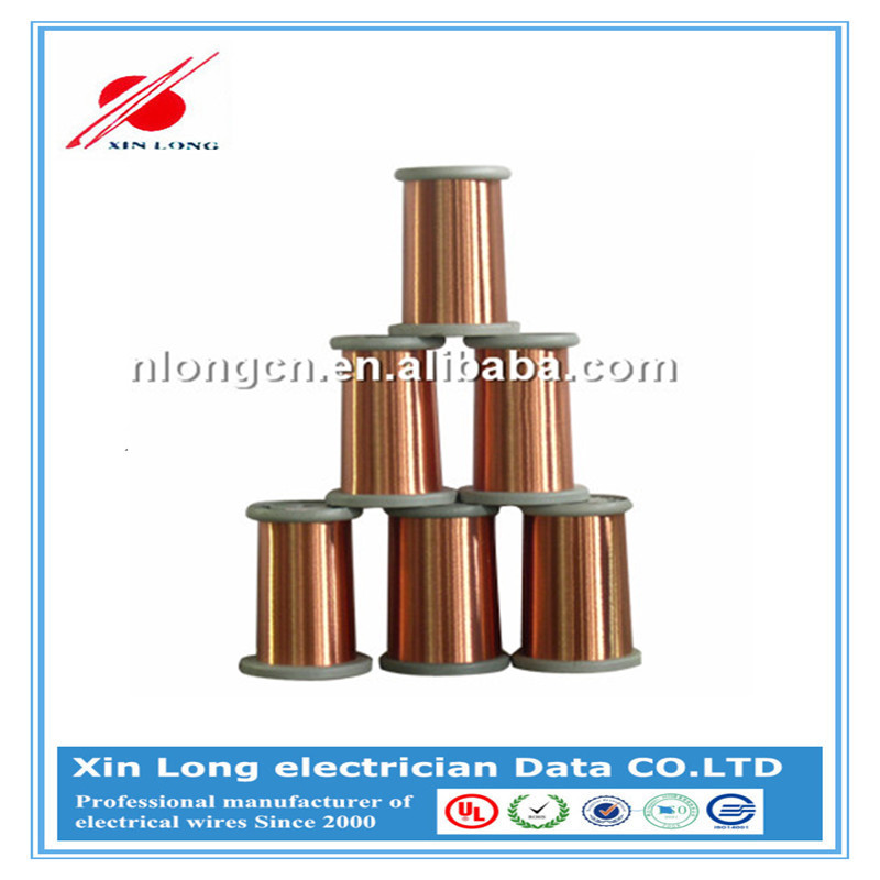 High Quality Solderable Thin CCA Wire UEW Enameled Copper Clad Aluminum Wire for Electric Tool