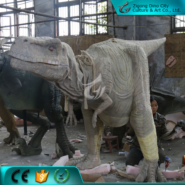 Silicone Rubber Costume Dinosaur of Park