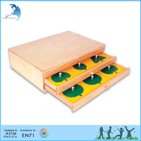 promotional good quality creative educational leaf cabinet baby toys
