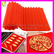 Kitchen Utensils New Pyramid Pan Fat Reducing Textured Non Stick Oven Baking Tray Sheet Silicone Cooking Mat
