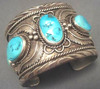 Native Americans style Turquoise cuff Bracelet bangle