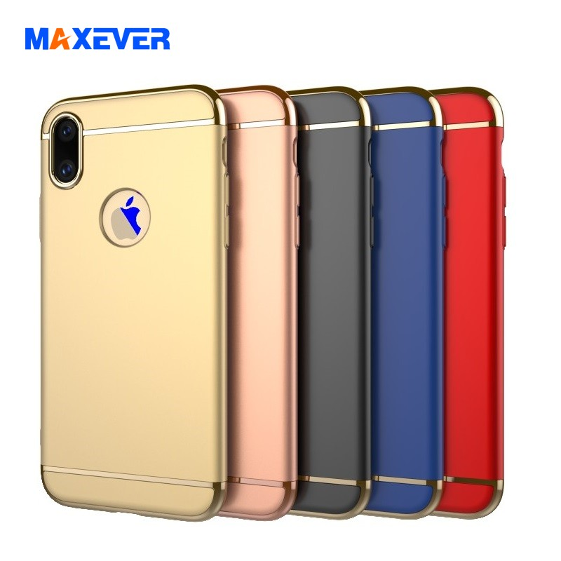 Stylish Cellphone Case for iPhone 7/8/Plus/X, Electroplating PC Cover for iPhone 7 Case