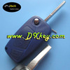 Salable products online for fiat key cover 3 button(blue) backside without battery door