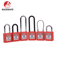BAODI OEM Custom Small 76mm Stainless Steel Shackle Safety Lock Out Padlocks