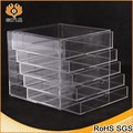 transparent large cosmetic box 5 drawers clear acrylic makeup box