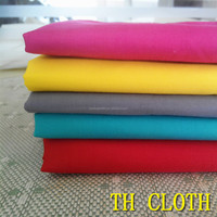 polyester cotton bleached fabric used for home textile