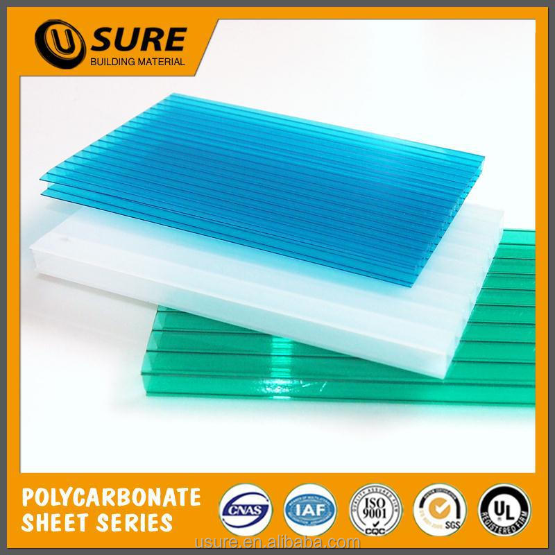 good sound insulation pool cover 10 mm double layer polycarbonate for security & protection