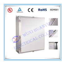 Industrial electrical stainless steel enclosure