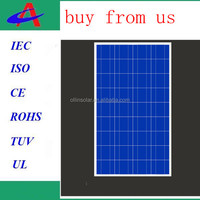 cheapest made in china 140w poly solar panel