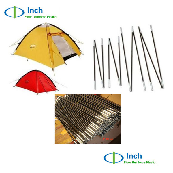 5mm fiberglass tent pole as flexible camping tent pole
