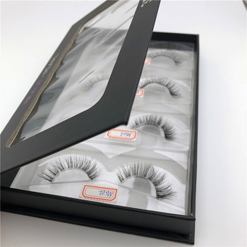 hot sale styles one dollar highly quality lower price 3D mink fur eyelash packaging
