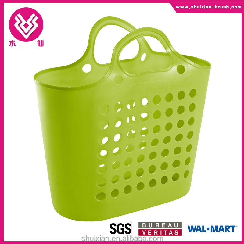 hot item plastic cheap basket with handle