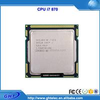 Best selling lga1156 socket 2.93GHz cpu processor i7-i7 870