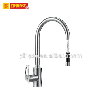 Factory Price CUPC Certification Bathroom Fixtures Stainless Steel 304 Kitchen Faucet