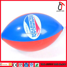 Custom inflatable football, inflatable four pieces of beach ball