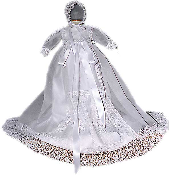 Peonia Christening Gown