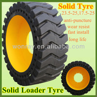 Chinese Large Construction Solid Tyres 23.5x25 For Wheel Loaders