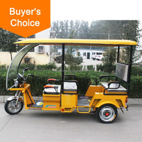Fashion tandem tricycle for adults