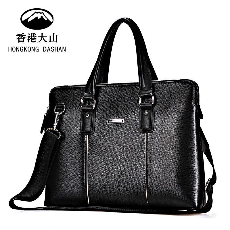 2015 New Fashion Genuine Leather Series Bags For Men Handbag Tote bag Shoulder Bag Made In China