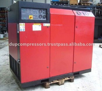 Rotary Screw Used Air Compressor Ecoair D 102