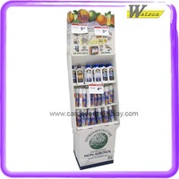 hot sale corrugated cardboard display stand with shelf for air freshener