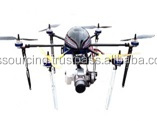 6 Rotor APS/GPS Unmanned Aerial Vehicle Video Surveillance Drone / UAV