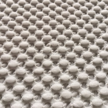point dots bubble embossed effect knit jacquard fabric for hometextile,soft handfeeling knit jacquard fabric for pets