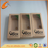 Kraft paper cell phone case box with logo, Custom packaging box suitable for iphone/ipad/ipod/sumsung with different size