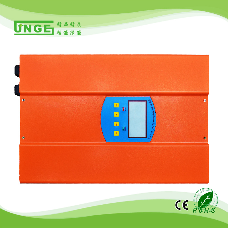 1kw 2kw hybrid solar inverter/solar inverter with built-in charge controller