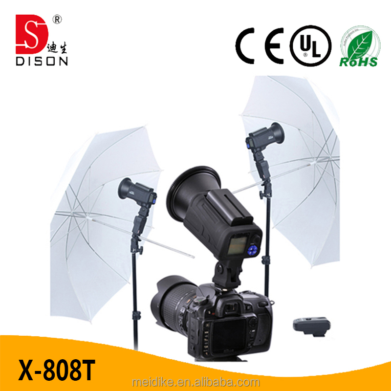 Outdoor photography studio strobe lighting china made camera flash for canon 7d etc