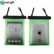 Promotion item outdoor equipment TPU PVC SGS IPX8 armband waterproof tablet case for ipad
